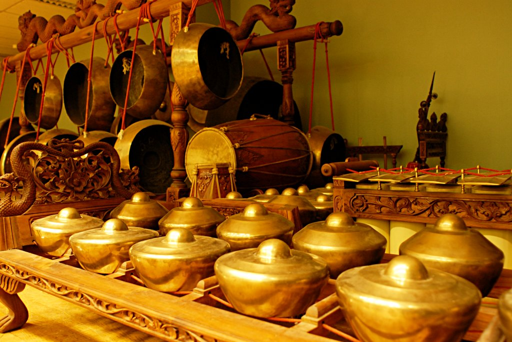 Gamelan, a true Indonesian invention!