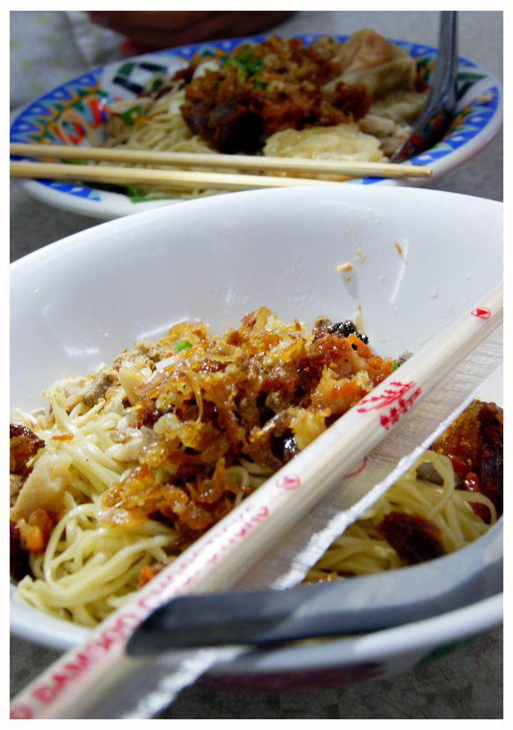 Delicious noodles