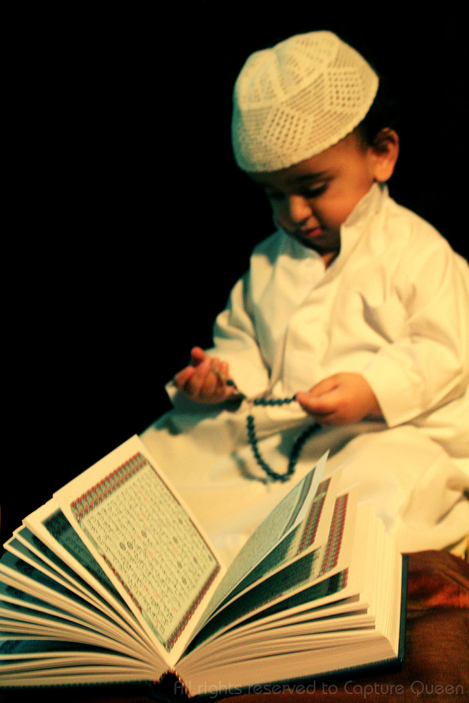 Child reading the Quran, By: Capture Queen