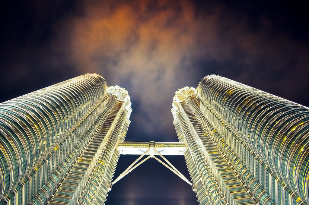 Petronas Twin Towers, By: David Bueso