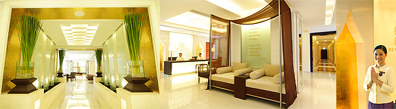 A revitalizing Deverana Spa treatment at DusitThani Hotel
