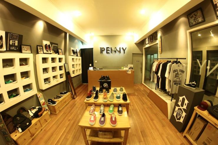 Penny, for all your sneaker needs!