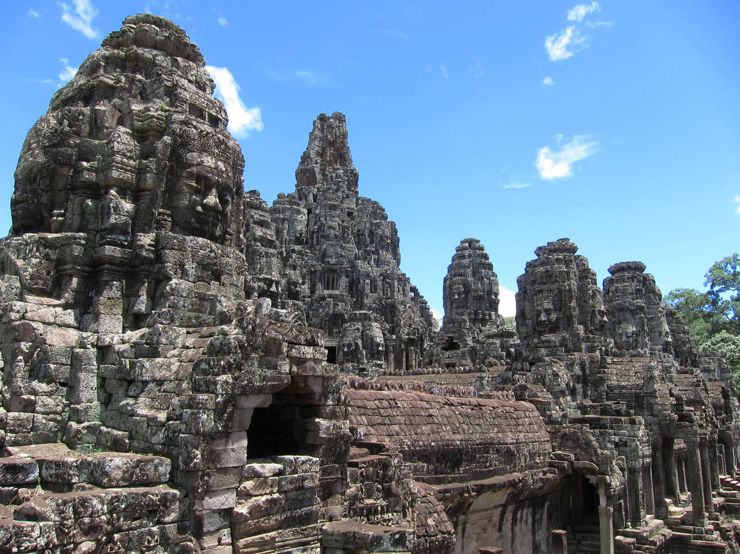 Bayon Faces, By: Vijay Khurana