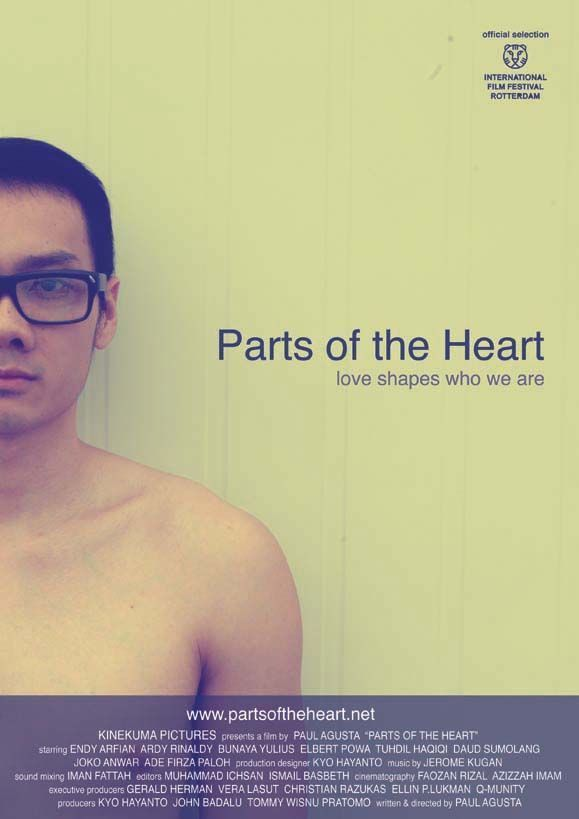 Parts of the heart, Paul Agusta, poster