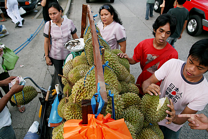 Durian, the smelly king of fruits, By: Keith Bacongco