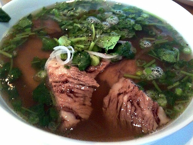 A delicious bowl of Pho Bo, By: Peter Svensk