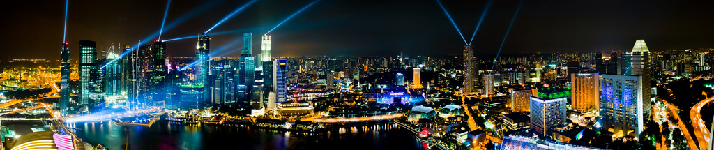 The glitter & gold at Marina Bay Sands, By: Jiahui Huang