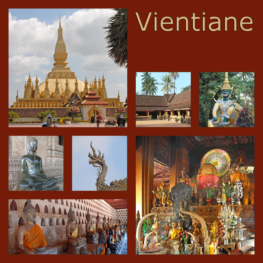 Sights in Vientiane, By: Jean-Paul Dalbera