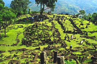 The mysterious Megalithic Site of Gunung Padang