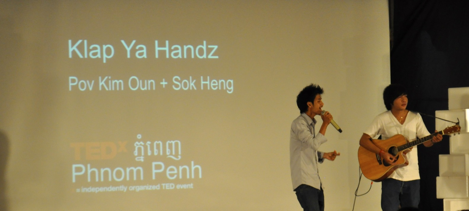 klap ya handz for TEDx in Phnom Penh, By: Gabrielle Yetter