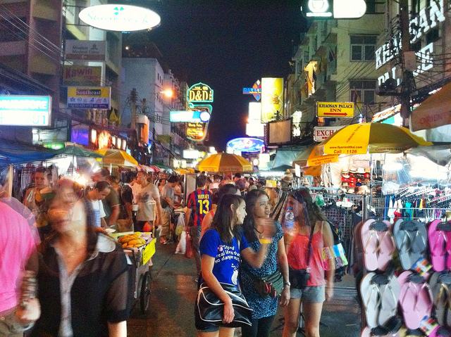 Khao San Road is something to behold, By: MCKay Savage