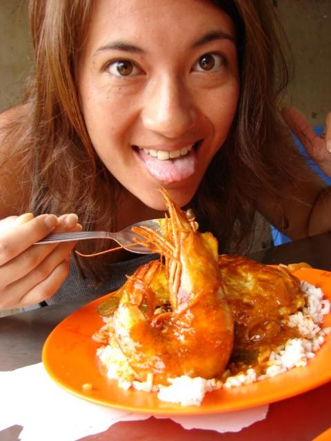 Shrimps Penang