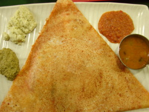 Indian Roti with curries Malaysia