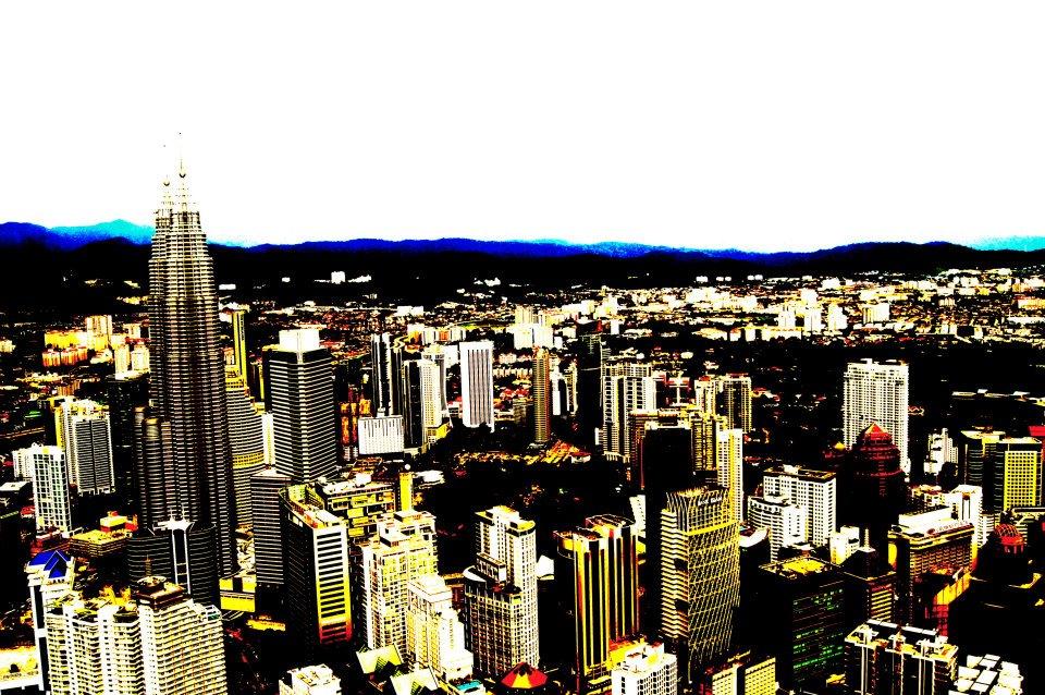 Kuala Lumpur cityscape, By: Zach Goldman