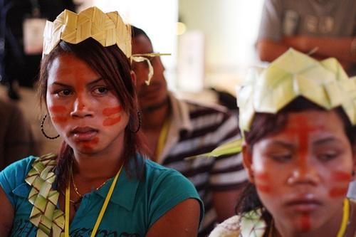 Orang Asli (Indigenous) girl, by: Saharuddin Adnan