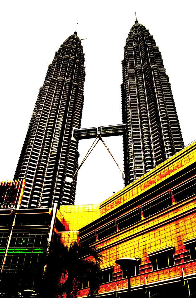 Symbols of KL, the Petronas Towers, By: Zach Goldman