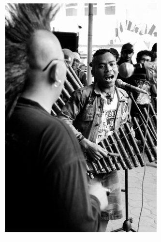 punklung a band from Bandung