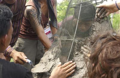 Merapi sculpture