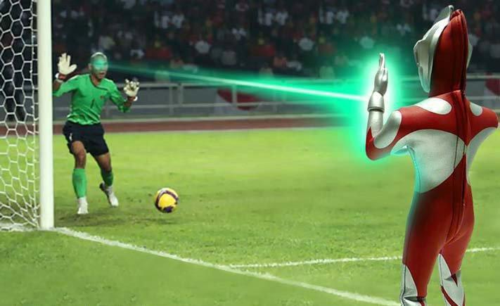 laser ultraman AFF cup 2010