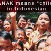 Anak Bali educates children in Bali
