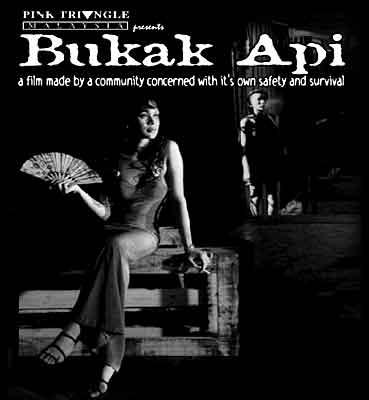 Bukak Api, the arsonist, Malaysian film