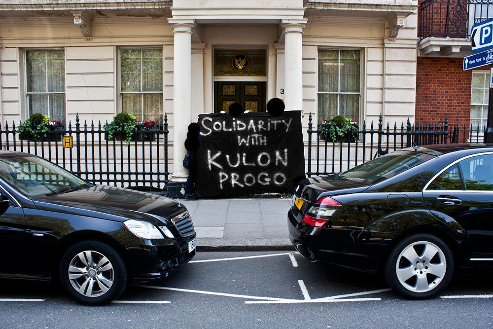 solidarity with the Kulon Progo farmers