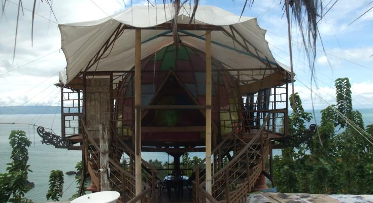 The front room of Karang Aji Villa