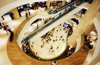 The ION Shopping Mall on Orchard Road, By: William Cho