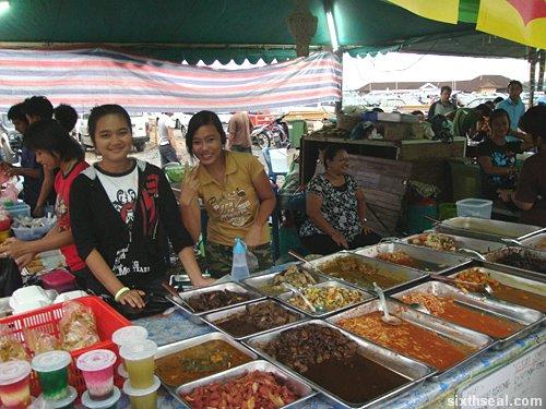 At the bazar, By: Syazana Nur