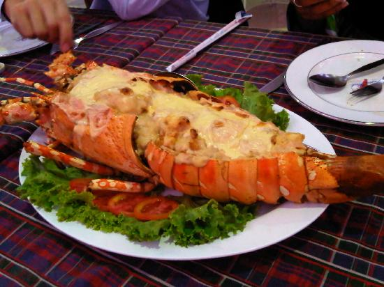 Lobster anyone? Seafood market and restaurant bangkok