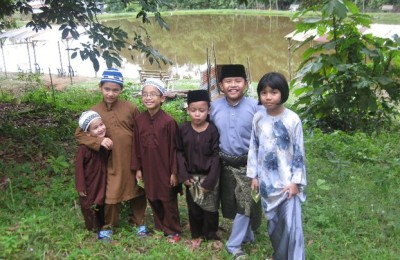 Dressed for Idul Fitri, By: Syazana Nur
