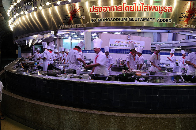 Seafood Market And Restaurant Bangkok Seafood Bonanza For