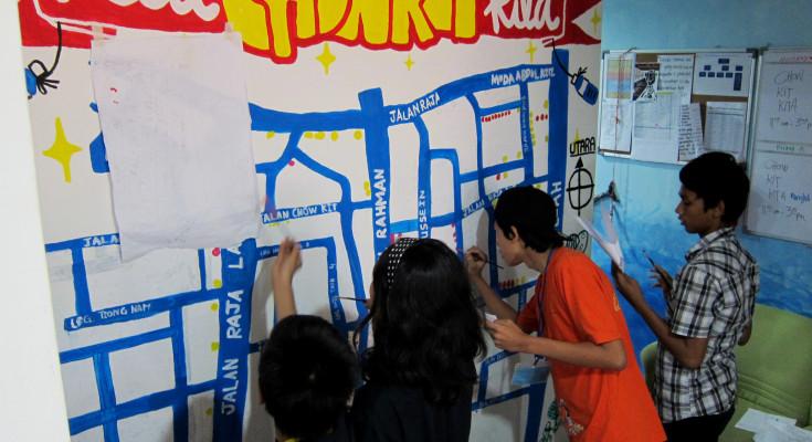Chow Kit Kita Mural
