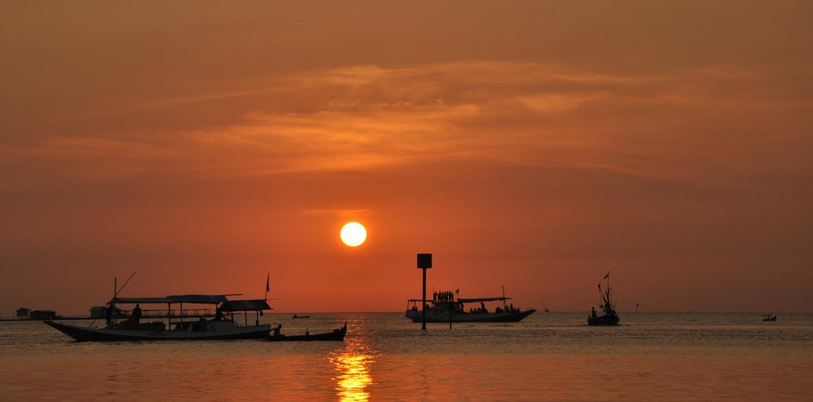 Sunset in Karimunjawa