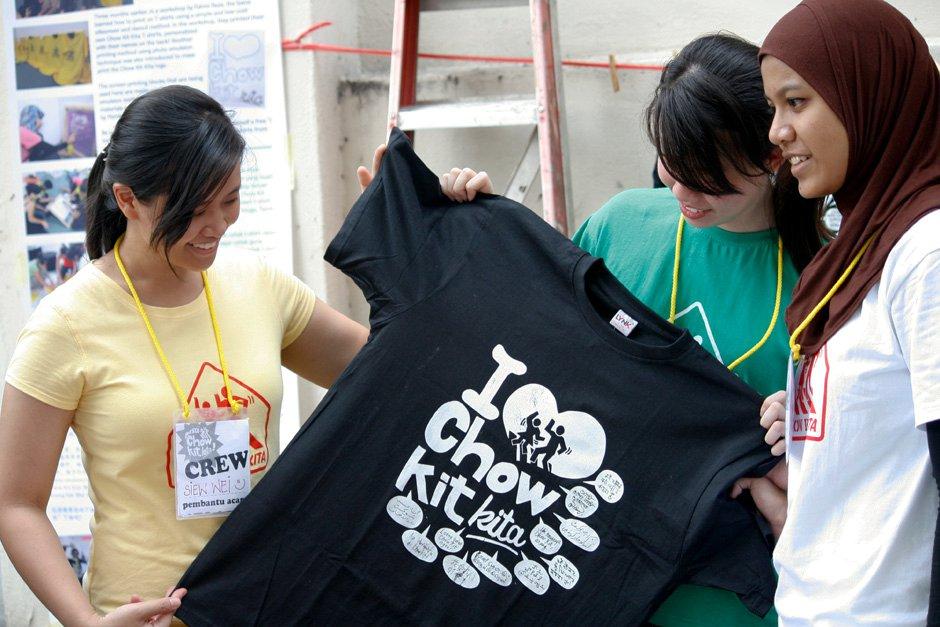 T-Shirt Printing chow kit kita