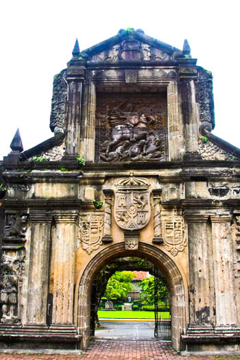 Intramuros, one of the oldest cities in Metro Manila, built in the 16th century by the Spaniards