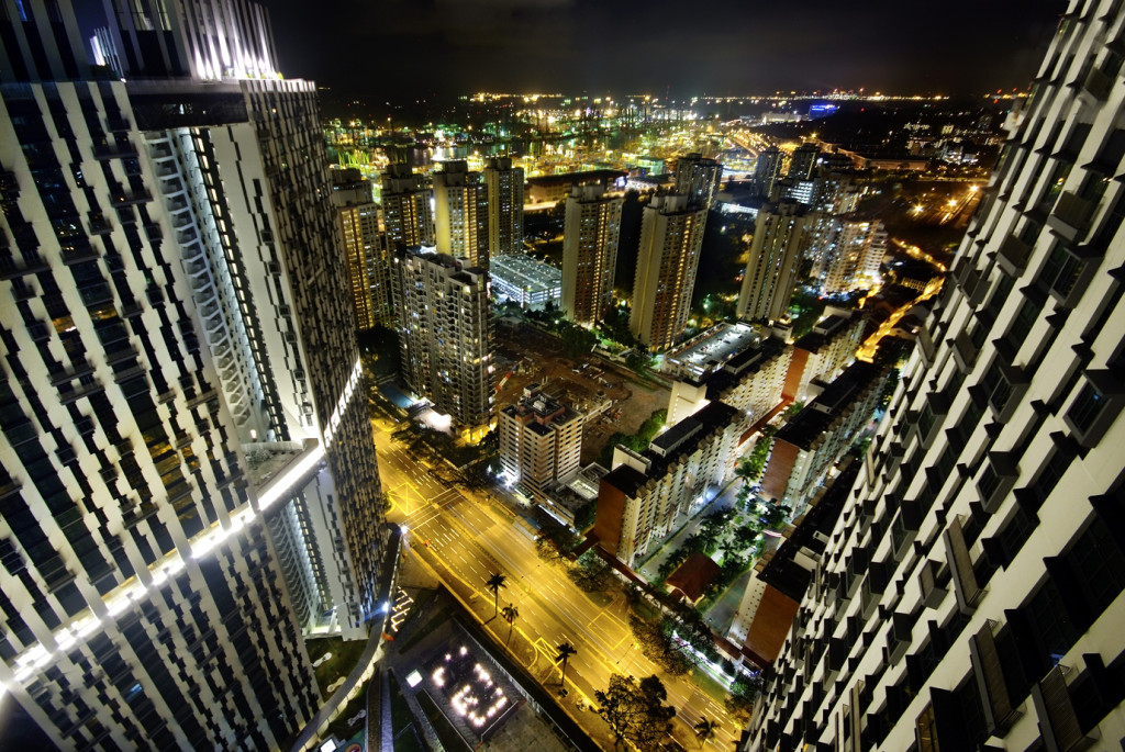 Photographing Singapore ever changing skyline, By: William Cho