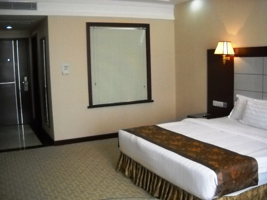 A swanky hotelroom for 20 USD? By: Gabi Yetter