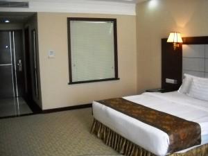 A swanky hotelroom for 20 USD? By: Gabi Yetter
