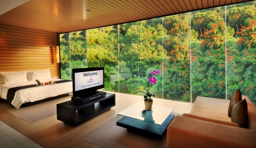 Combining modern luxury and 'back to nature' creates a homely feel at Padma Hotel