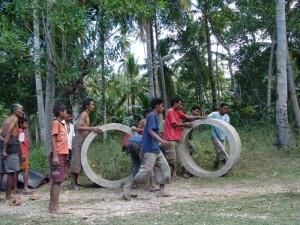 Community spirit in Sumba