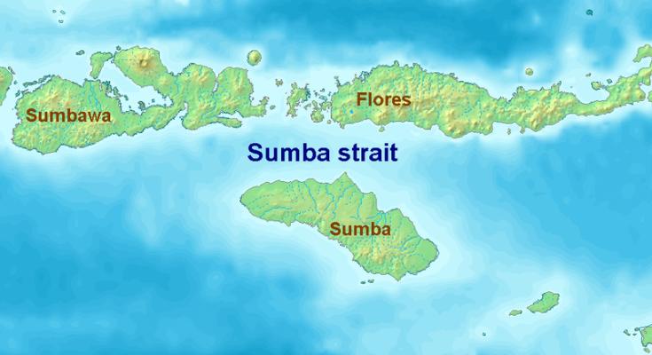 sumba map