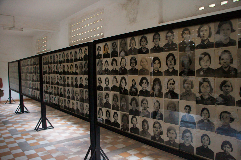 The Tuol Sleng Genocide Museum is a museum in Phnom Penh, the capital of Cambodia. The site is a former high school which was used as the notorious Security Prison 21 (S-21) Christian Haugen