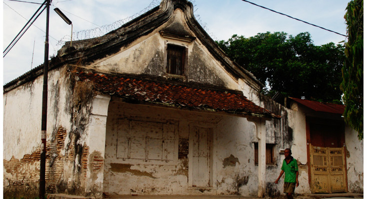 An old house in Lasem, By: Labodalih Sembiring