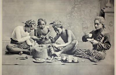 Gambling in Java around 1911-1914 by 1911-1914 by Kleynenberg & Co. and photographed by Jean Demmeni. Courtesy of Bartele Gallery.