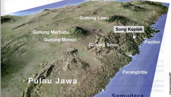 Gunung Sewu in Central Java
