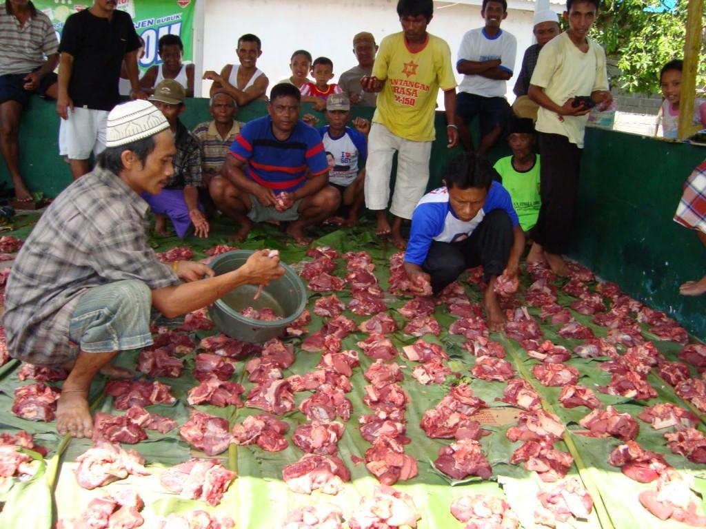 Distributing meat, By: Julianne Reynolds