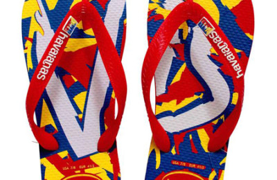 Crazy Colorful flip flops: Havaianas Filipinas