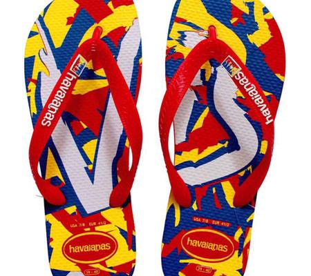 Crazy Colorful flip flops: Havaianas Filipinas