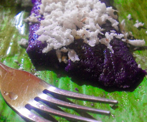 Puto Bumbong, By: Joanne Escobar